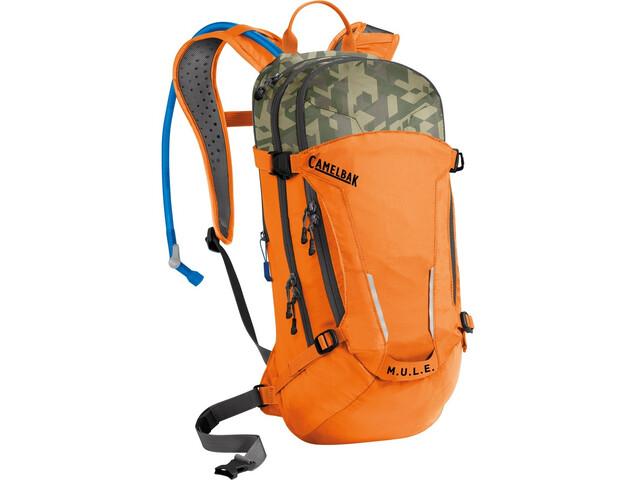 CamelBak M.U.L.E. Pack Hidratación 9l+3l, russet orange/camelflage
